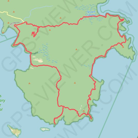 Wilsons Promontory Circuit GPS track, route, trail