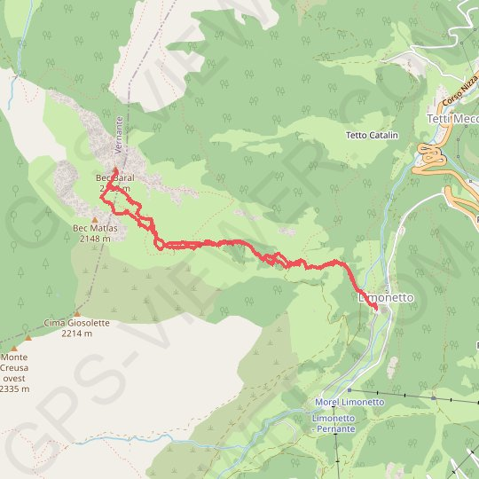 Bec Baral GPS track, route, trail