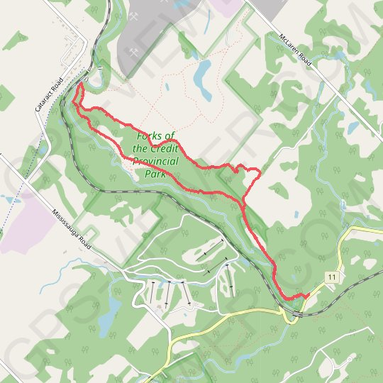Bruce Trail Loop GPS track, route, trail