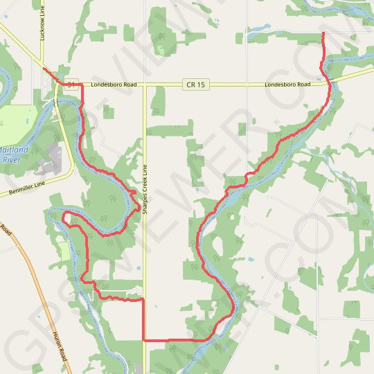 Little Lakes - Benmiller GPS track, route, trail